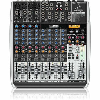 Behringer XENYX QX1622USB 16-Input Analog Mixer/USB Interface