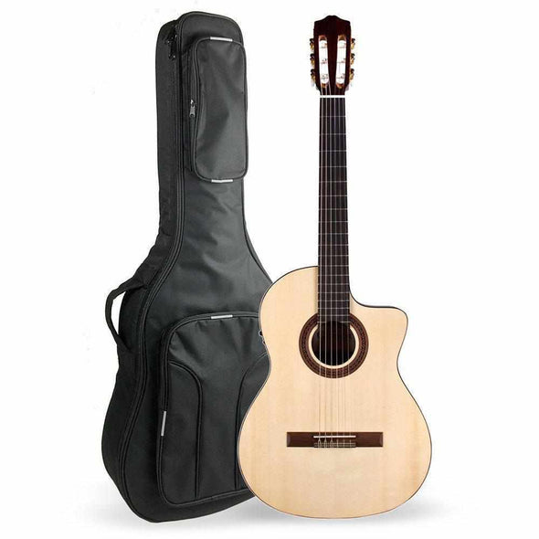 Cordoba C5CE SP Cutaway Acoustic Electric Classical Guitar With Bag Solid Spruce Top