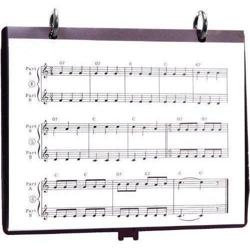 Conn-Selmer 5-Page Flip Folder with Rings - Andy's Music