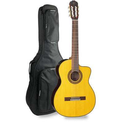 Takamine GC5CE-NAT Acoustic Electric Classical Guitar With Bag