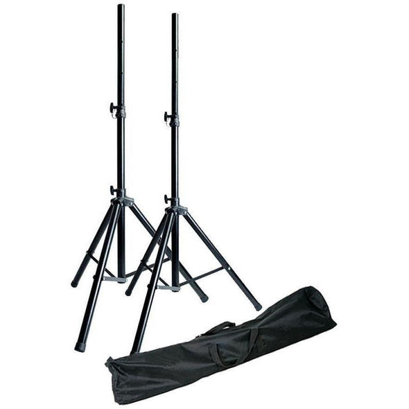 Gear Buddy SSPK01 Tripod Speaker Stand Pair With Bag