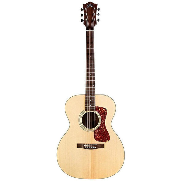 Guild OM-240E Orchestra Acoustic Electric Guitar With Bag - Andy's Music