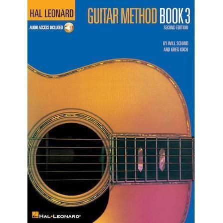 Hal Leonard Guitar Method Book with Online Audio Pack