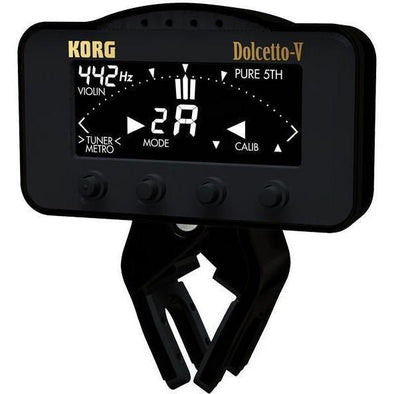 KORG AW3V Dolcetto-V Clip on Tuner/Metronome - Andy's Music