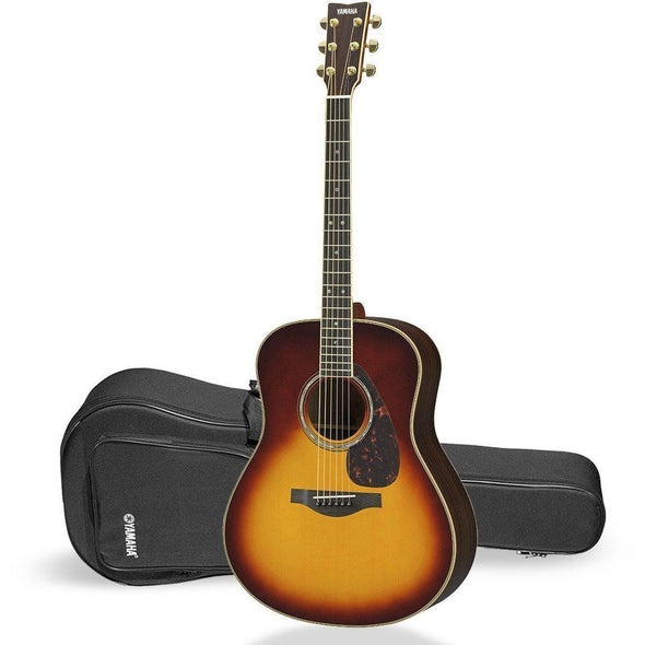 Yamaha LL16R A.R.E. Handcrafted Acoustic Guitar-LL16BS Rosewood Brown Sunburst B-Stock-Andy's Music