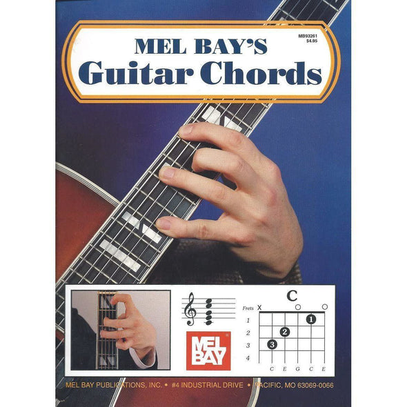 Mel Bay Guitar Chord Book