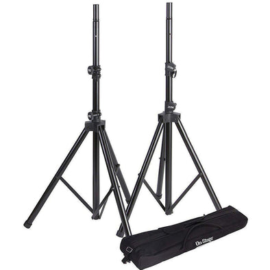 On-Stage All-Aluminum Speaker Stand Pack - Andy's Music