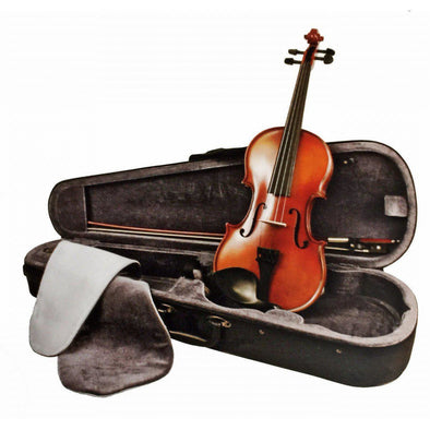 Sebastian Complete Violin Outfit With Case & Bow, Model 110VN - Andy's Music