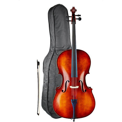 Sebastian Complete Cello Outfit With Bag & Bow, Model 153S - Andy's Music