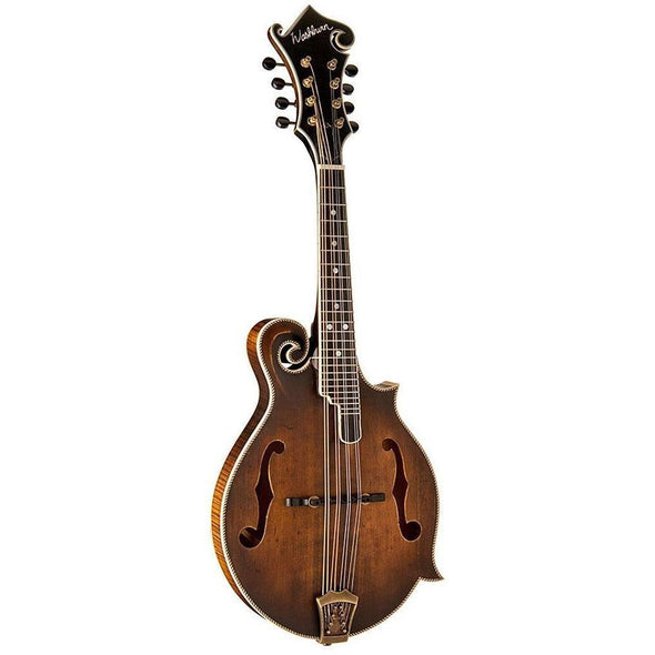 Washburn M118SW All Solid F-Style Mandolin With Case - Andy's Music