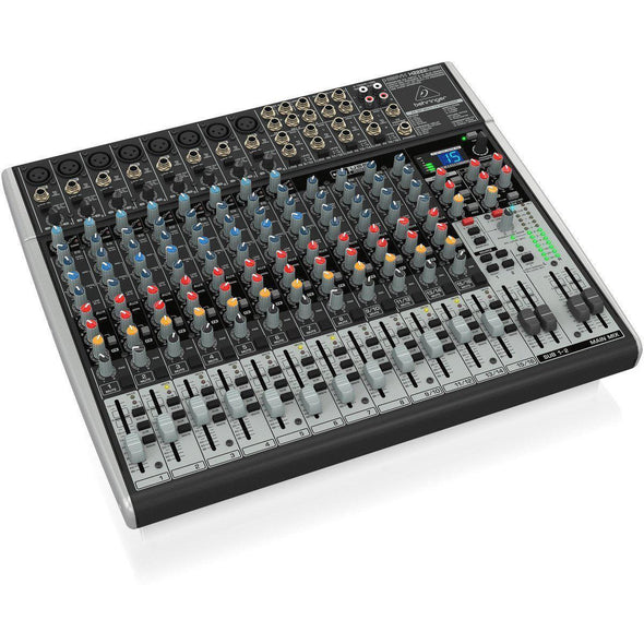 Behringer XENYX X2222USB 22-Input Mixer & USB Interface - Andy's Music