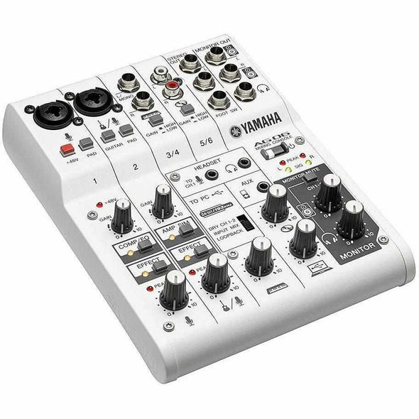 Yamaha AG06 Mixer and USB Audio Interface-Andy's Music