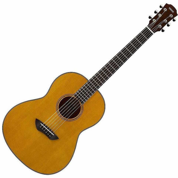 Yamaha CSF1M Parlor Acoustic Guitar With Bag-Vintage Natural-Andy's Music