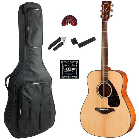 Yamaha FG800M Matte Finish Acoustic Guitar With Deluxe Bag & Accessories
