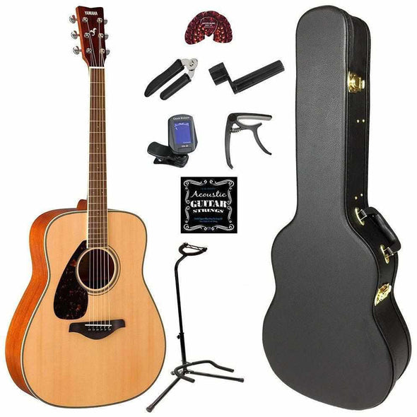 FG820L Left-Handed Acoustic Guitar Pack - Andy's Music