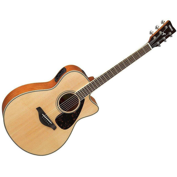 Yamaha FSX820C Acoustic Electric Guitar Value Pack - Andy's Music