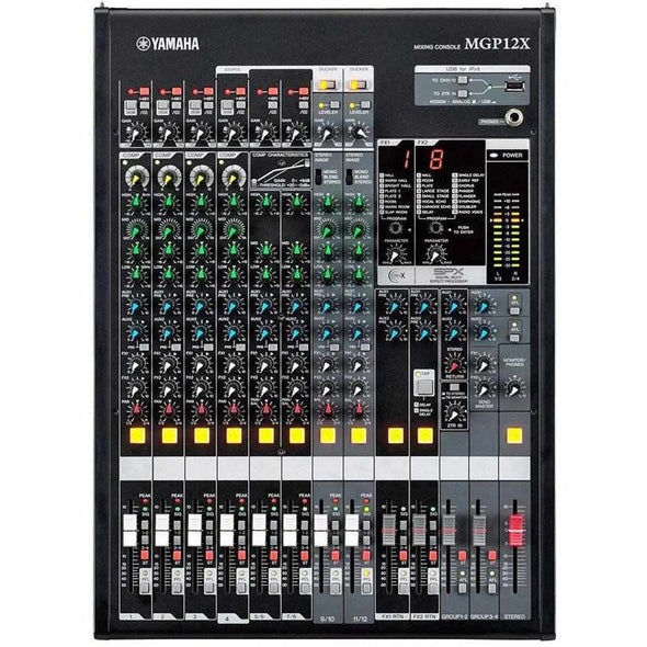 Yamaha MGP12X 12-Channel Live Sound Mixer-Andy's Music