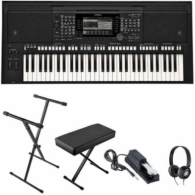 Yamaha PSR-S775 Arranger Workstation Keyboard Bundle | Andy's Music