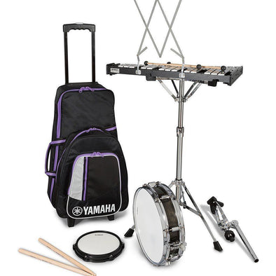 Yamaha SCK-350 Snare Drum & Bell Kit With Rolling Bag - Andy's Music
