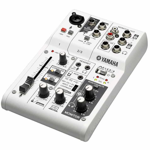 Yamaha AG03 Mixer and USB Audio Interface-Andy's Music