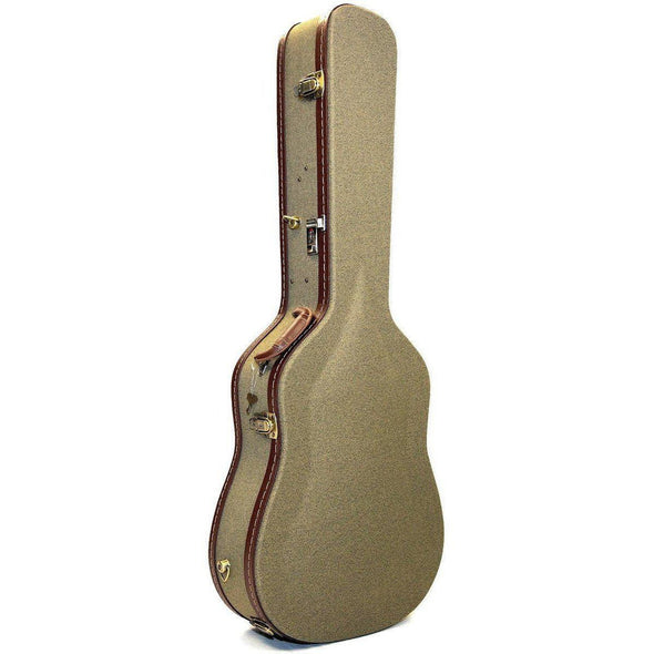 Deluxe Cloth Tweed Dreadnought Guitar Case 6 or 12-String Acoustic Guitars AHCDLX1 - Andy's Music