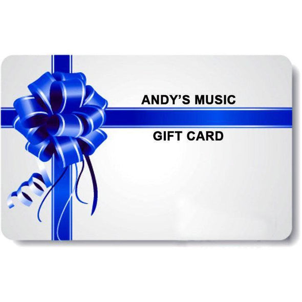 Gift Card-Andy's Music