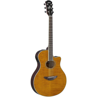 Yamaha APX600FM Acoustic Electric Thin Body Guitar-Guitar Only-Andy's Music