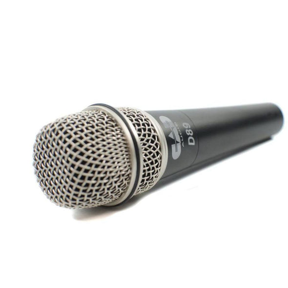 CAD D89 Premium Supercardioid Dynamic Instrument Microphone-Andy's Music