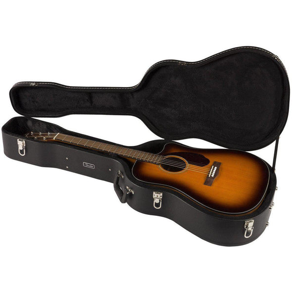Fender CD140SCE Dreadnought Acoustic-Electric Guitar With Case