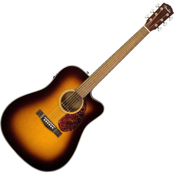 Fender CD-140SCE Cutaway Dreadnought Acoustic-Electric Guitar With Case