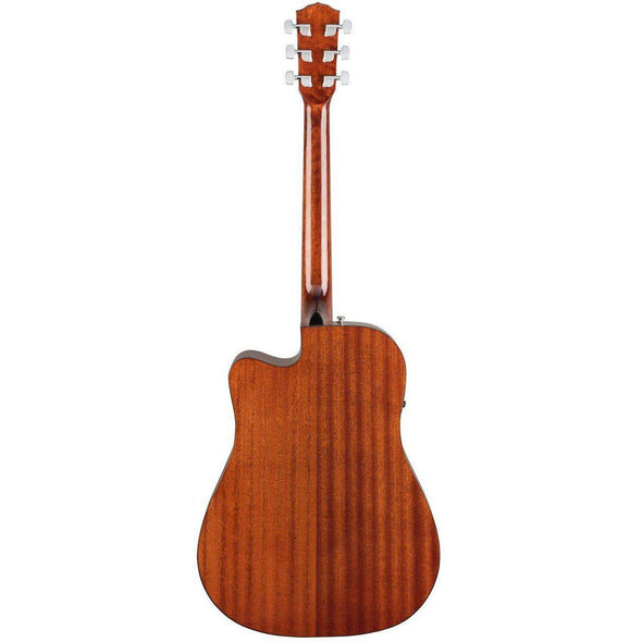 Fender CD60SCE Acoustic-Electric Guitar All Mahogany Body