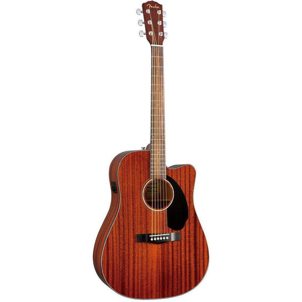 Fender CD60SCE Cutaway Acoustic-Electric Guitar All Mahogany Body