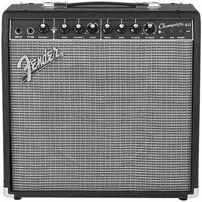 "Fender Champion 40 1x12"" 40 Watt Combo Guitar Amp"