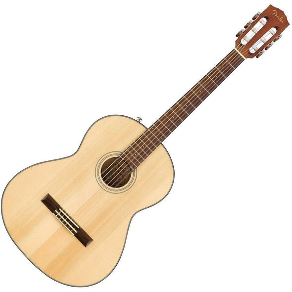Fender CN-60S Classical Guitar Bundle Natural Finish