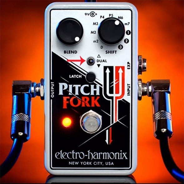 Electro Harmonix Pitch Fork Polyphonic Pitch Shifter Pedal-Andy's Music