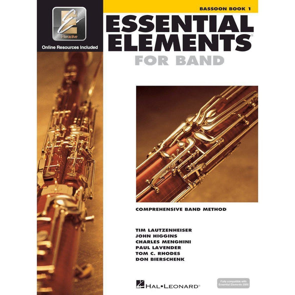 Essential Elements for Band Book 1-Bassoon-Andy's Music