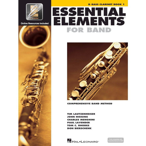 Essential Elements for Band Book 1-Bb Bass Clarinet-Andy's Music
