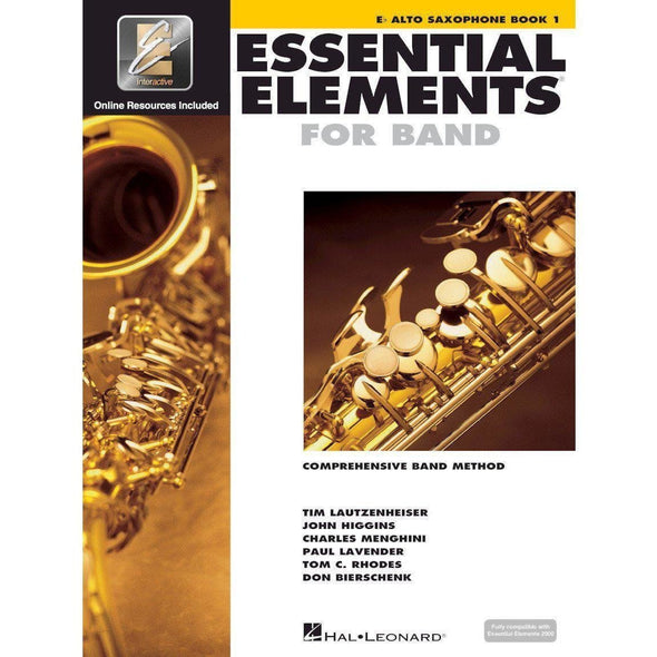 Essential Elements for Band Book 1-Eb Alto Saxophone-Andy's Music
