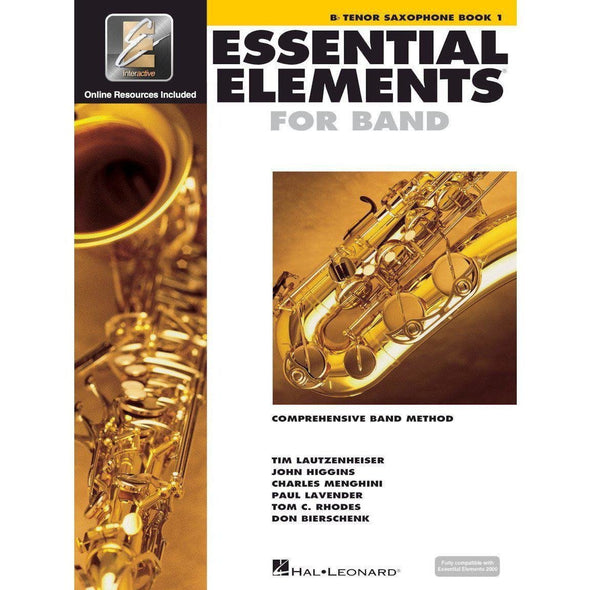 Essential Elements for Band Book 1-Bb Tenor Saxophone-Andy's Music