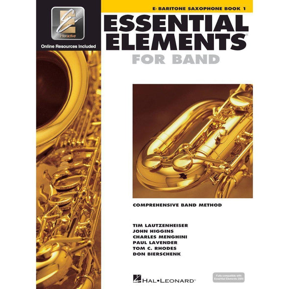Essential Elements for Band Book 1-Eb Baritone Saxophone-Andy's Music