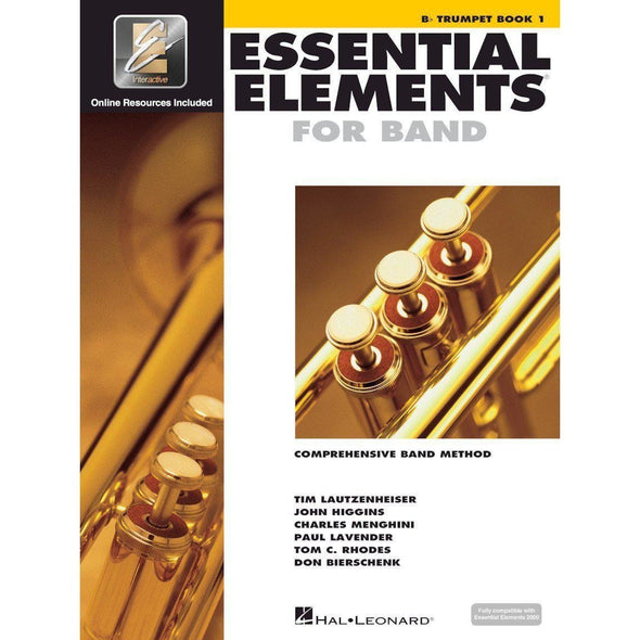 Essential Elements for Band Book 1-Bb Trumpet-Andy's Music