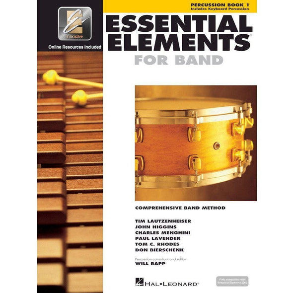 Essential Elements for Band Book 1-Percussion-Andy's Music
