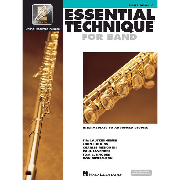 Essential Technique for Band Book 3-Flute-Andy's Music