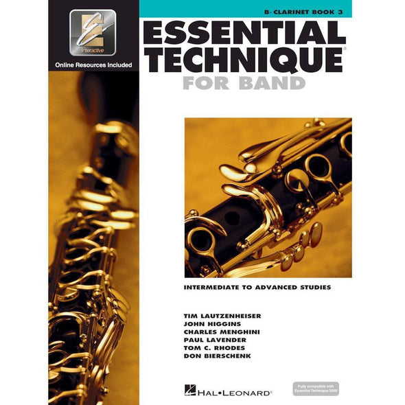 Essential Technique for Band Book 3-Bb Clarinet-Andy's Music
