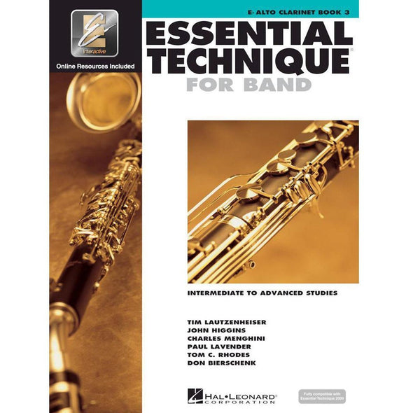 Essential Technique for Band Book 3-Eb Alto Clarinet-Andy's Music
