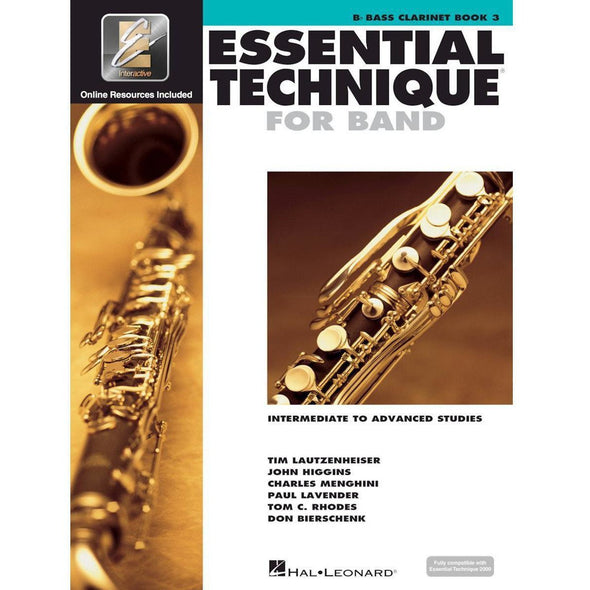 Essential Technique for Band Book 3-Bb Bass Clarinet-Andy's Music