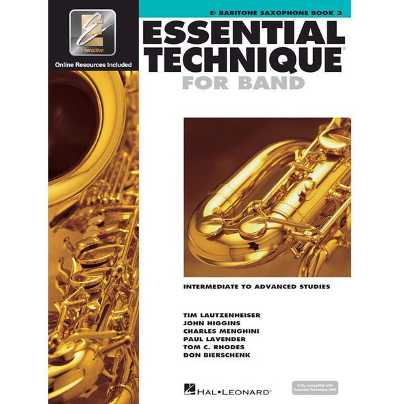 Essential Technique for Band Book 3-Eb Baritone Saxophone-Andy's Music