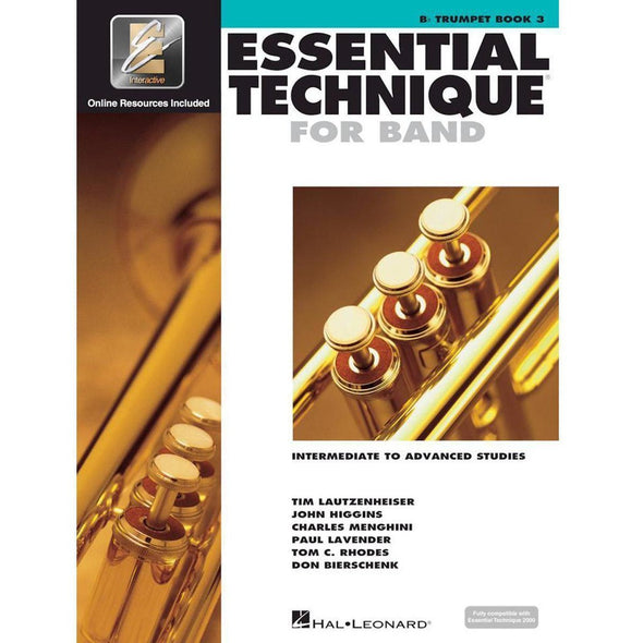 Essential Technique for Band Book 3-Bb Trumpet-Andy's Music