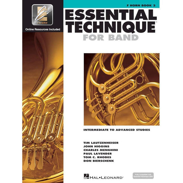 Essential Technique for Band Book 3-F Horn-Andy's Music