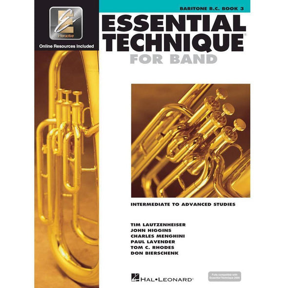 Essential Technique for Band Book 3-Baritone B.C.-Andy's Music